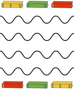 Scissor Page – Wave Lines