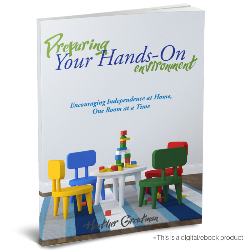 Preparing Your Hands-On Environment. Encouraging Independence at home, one room at a time.