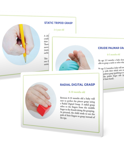 Typical Hand Grasp Development for Fine Motor Skills