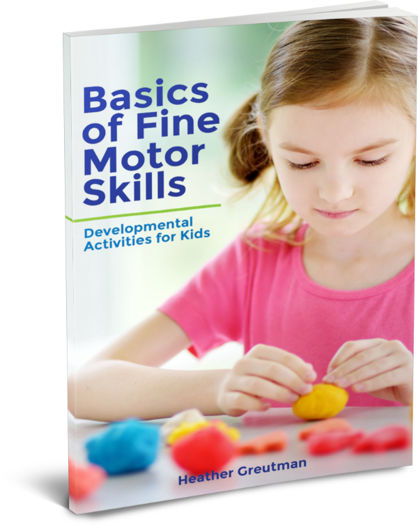 Basics of Fine Motor Skills ebook cover.