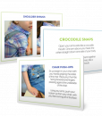 Hand Warm-Up Exercise Cards for Kids.
