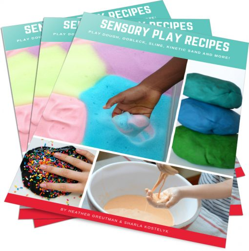 Sensory play recipes for kids of all ages.