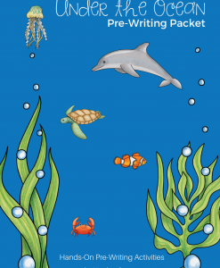 Under the Ocean Pre-Writing Activity Packet
