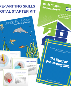 Pre-Writing Skills Digital Starter Kit